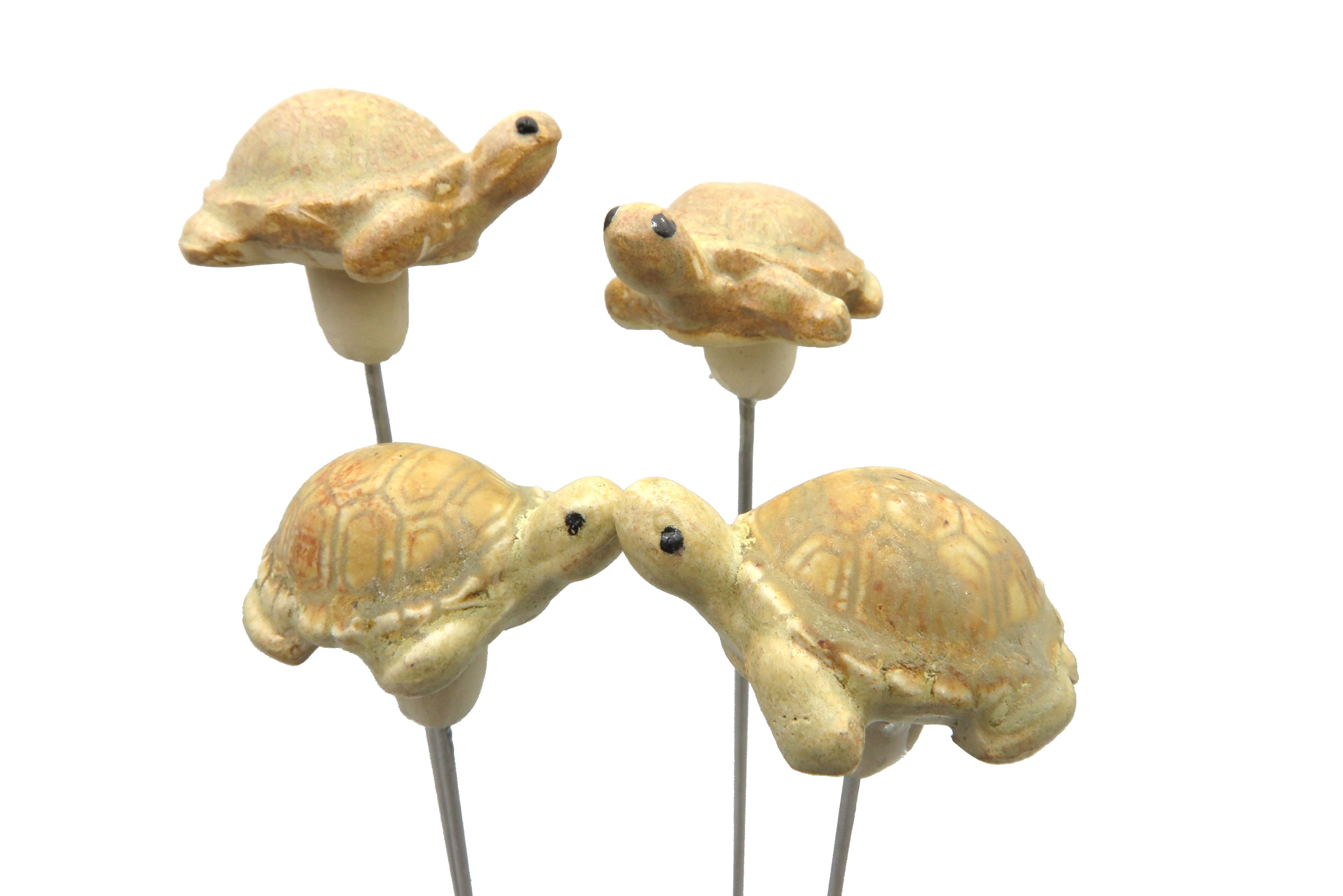 Steck-  Schildkröte samtbeige/ S 5cm