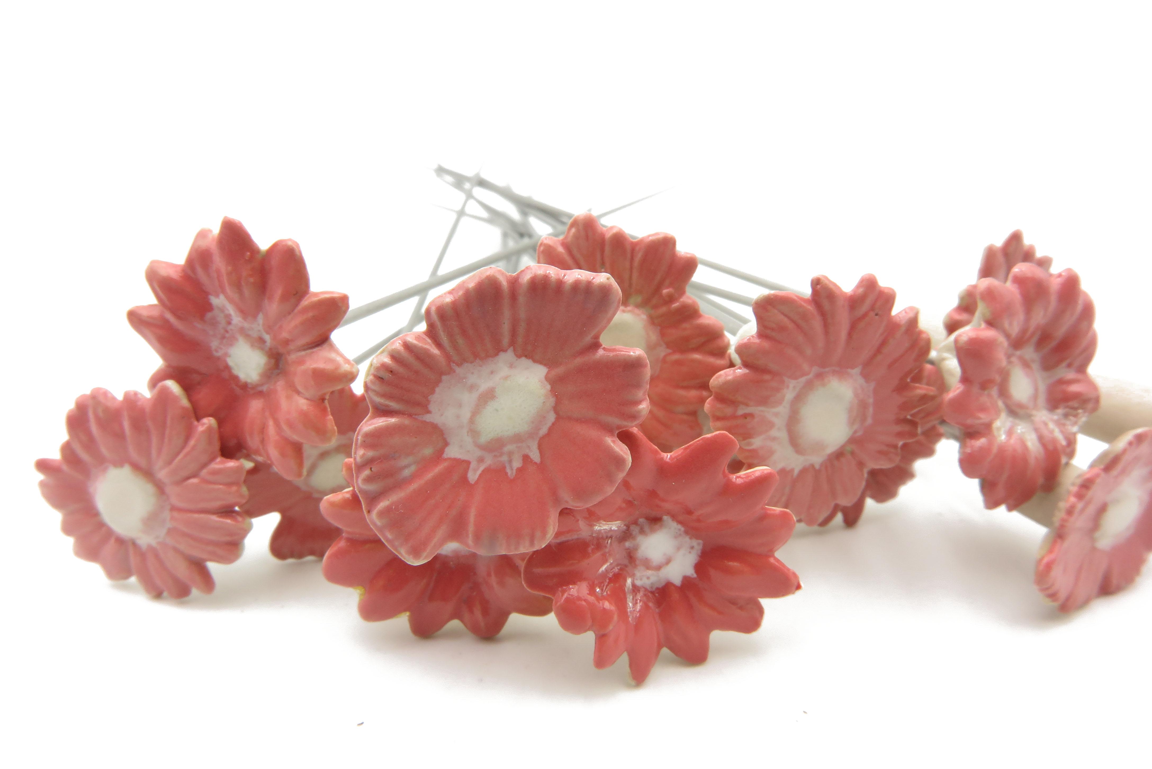 Steckblümchen Rosa gemischt/ 3cm