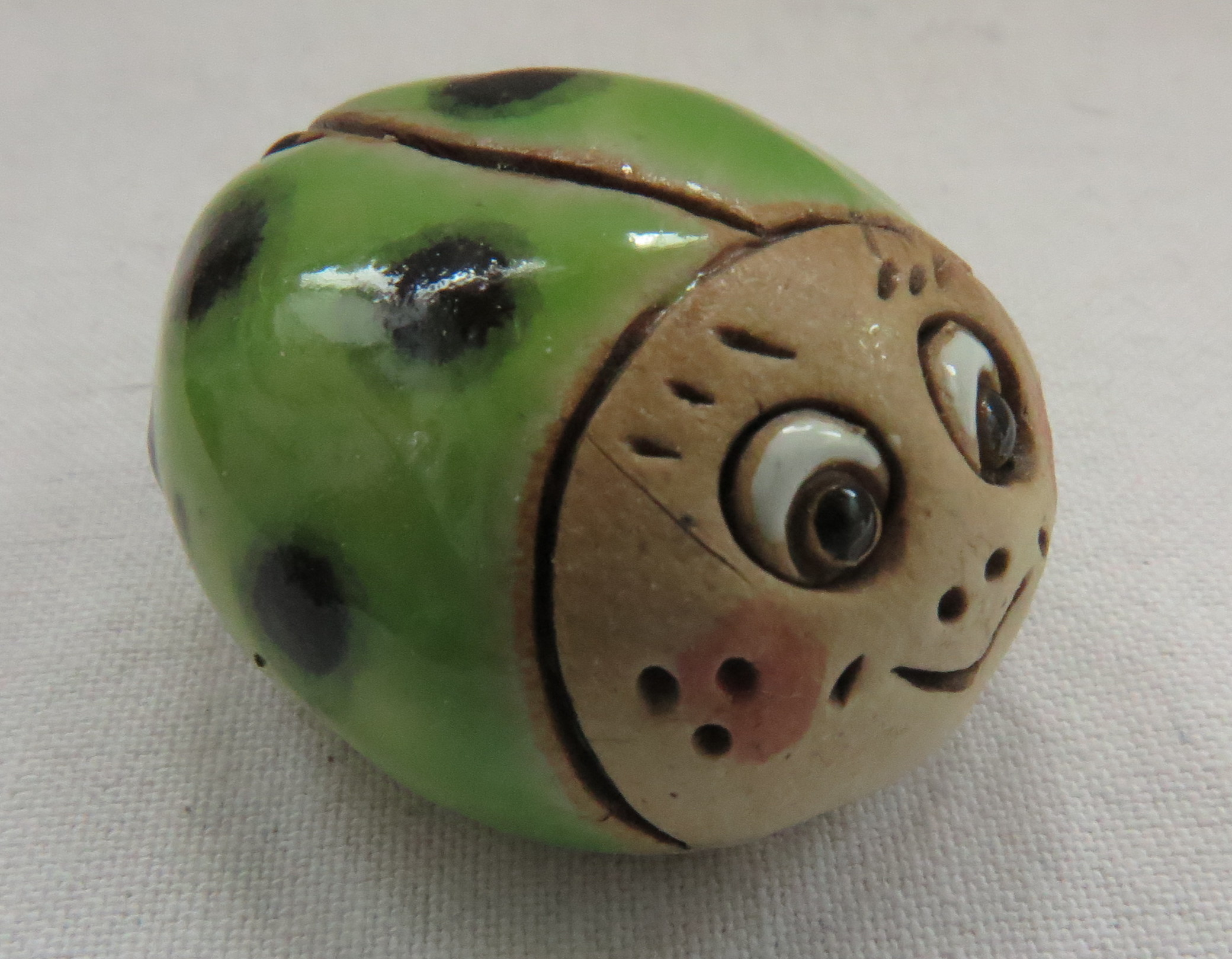 Glückskäfer Summsemann apfelgrün/ M 4,5cm