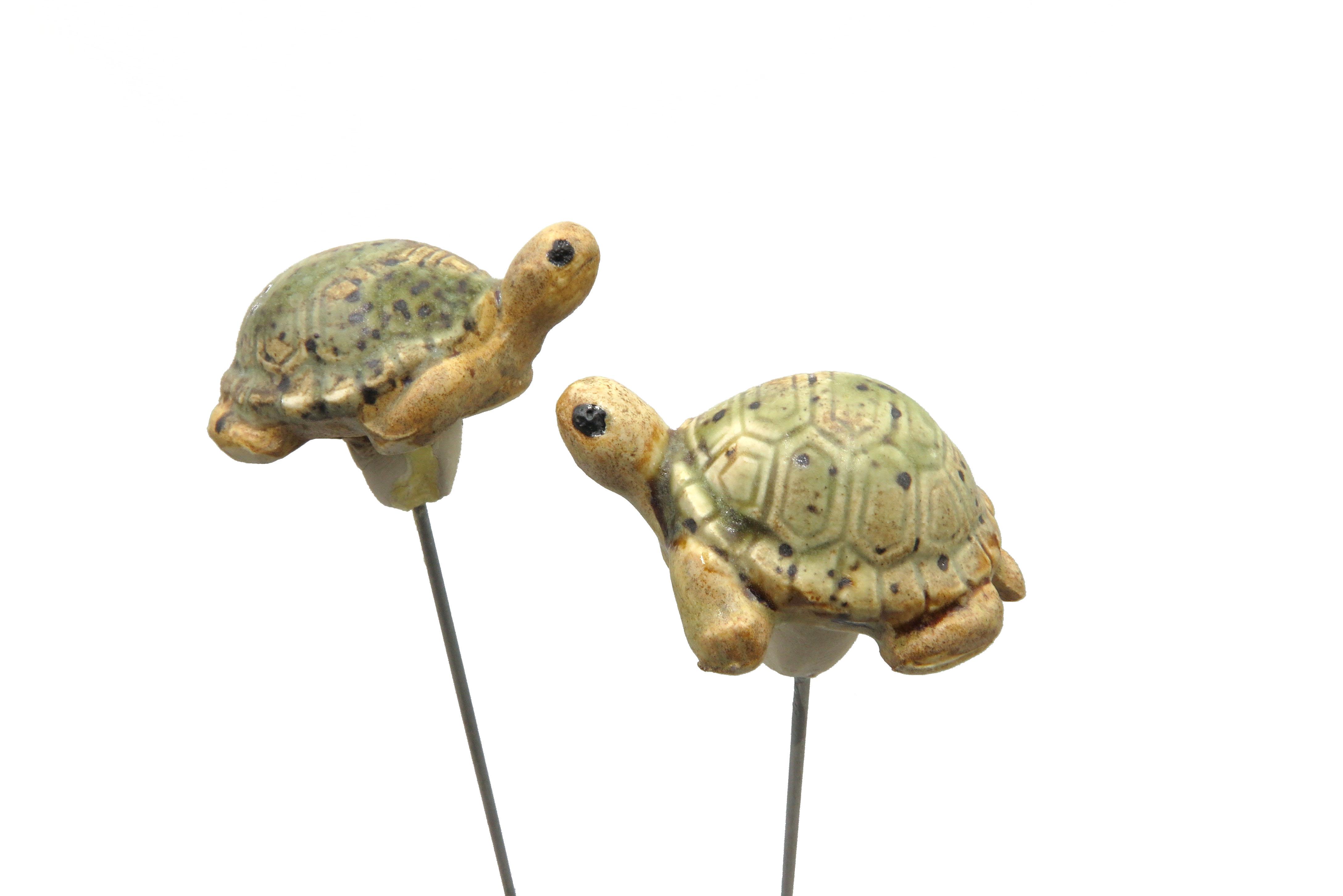 Steck-  Schildkröte winterbirne/ S  5cm