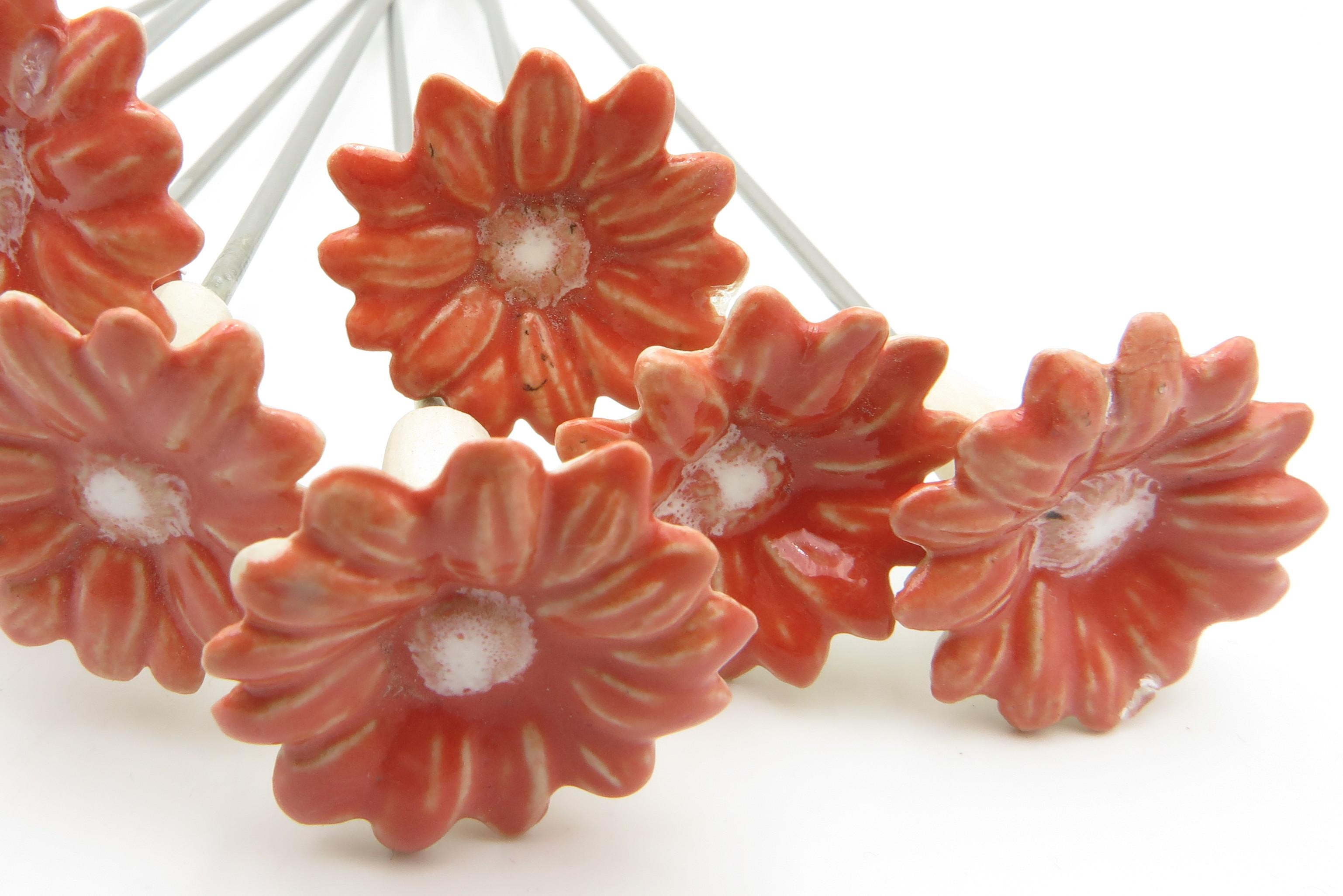 Steckblümchen Koralle/ 3cm