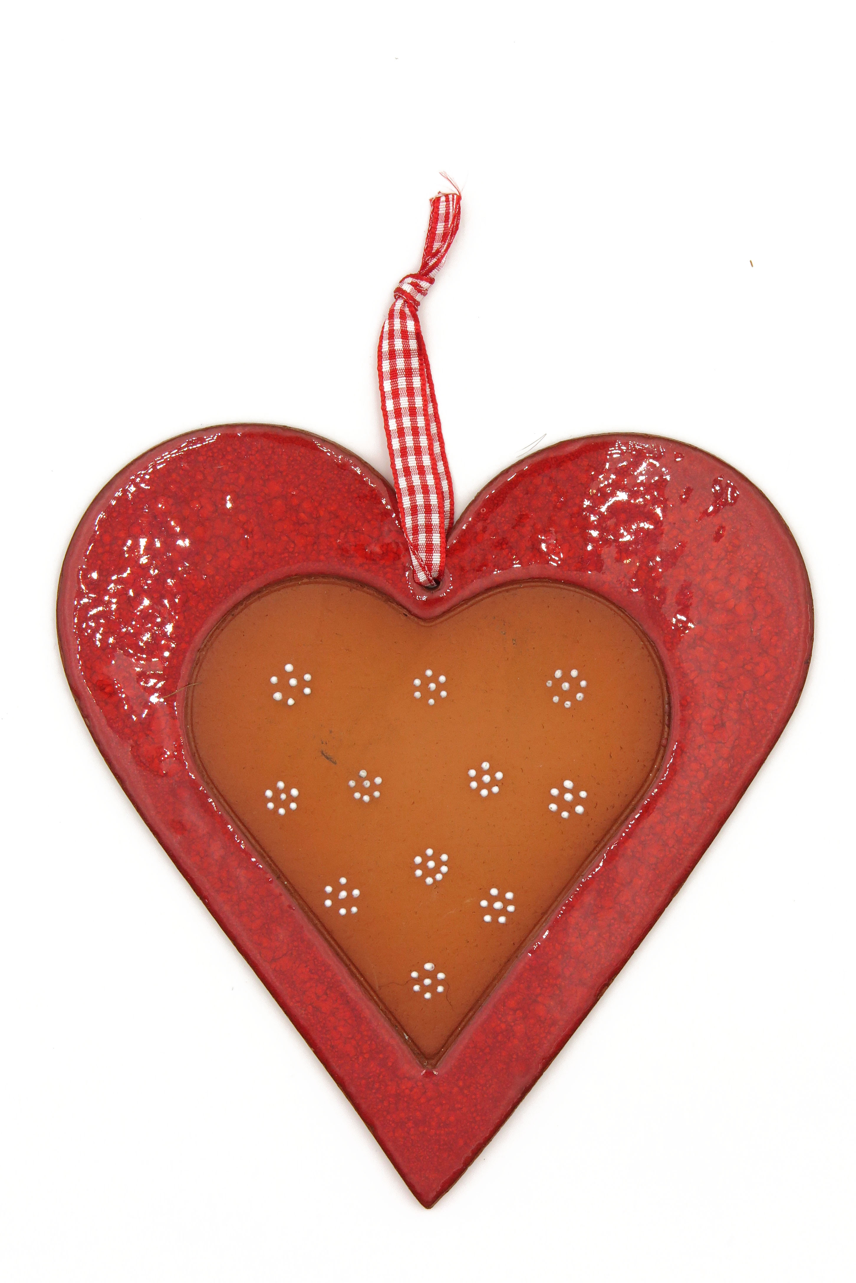 Herz Keramik Geschenk Anhänger/ XL 18cm