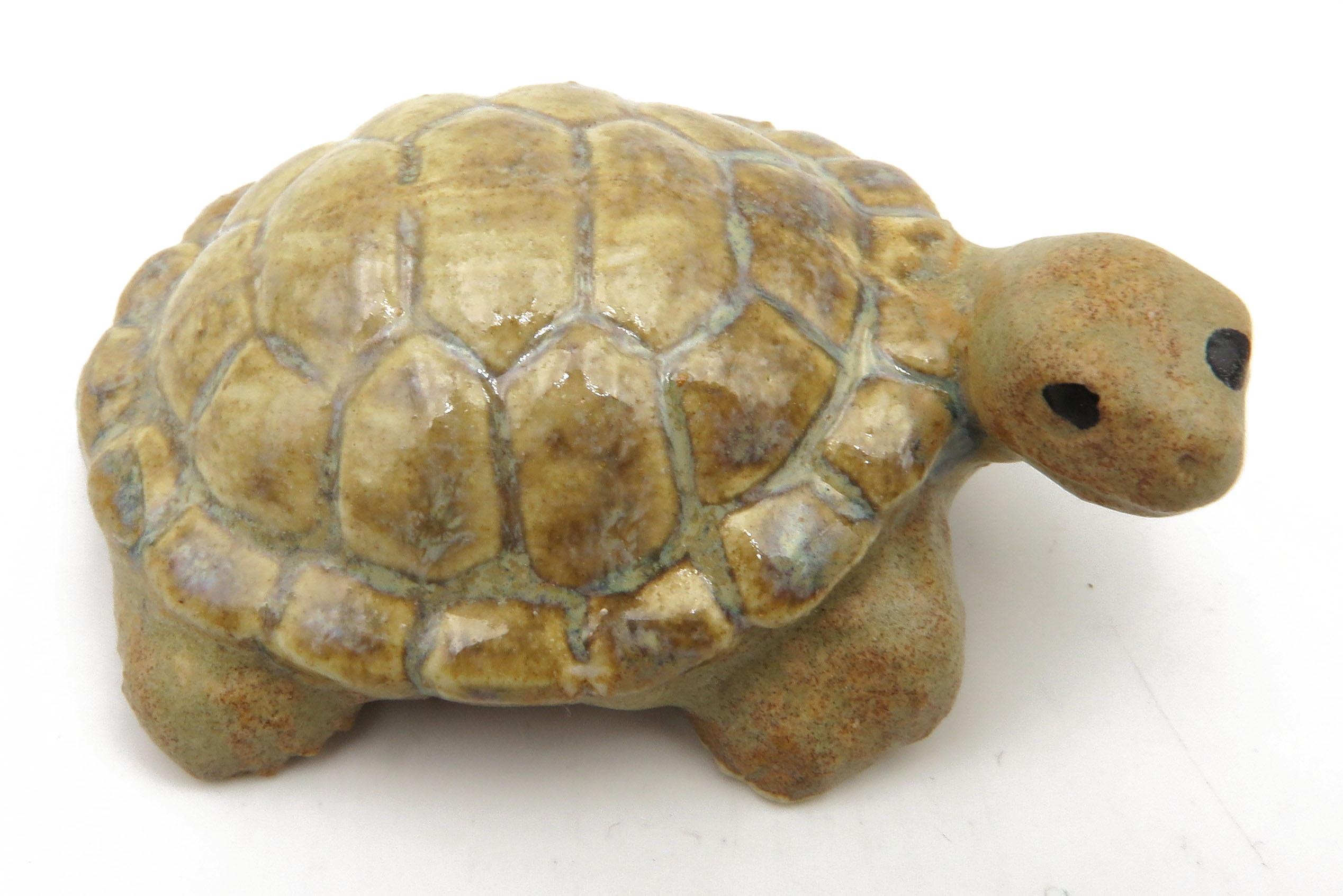 Schildkröte samtbeige/ M  7cm