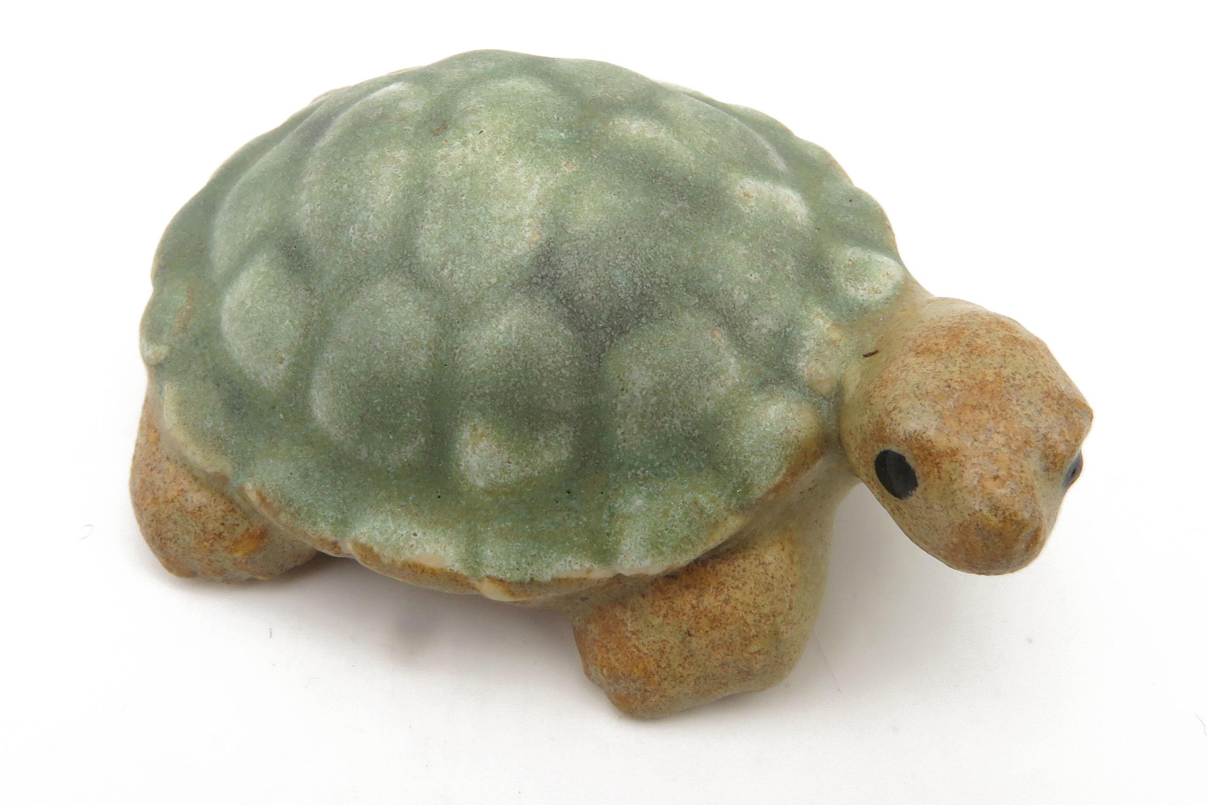 Schildkröte steingrün/ M 7cm