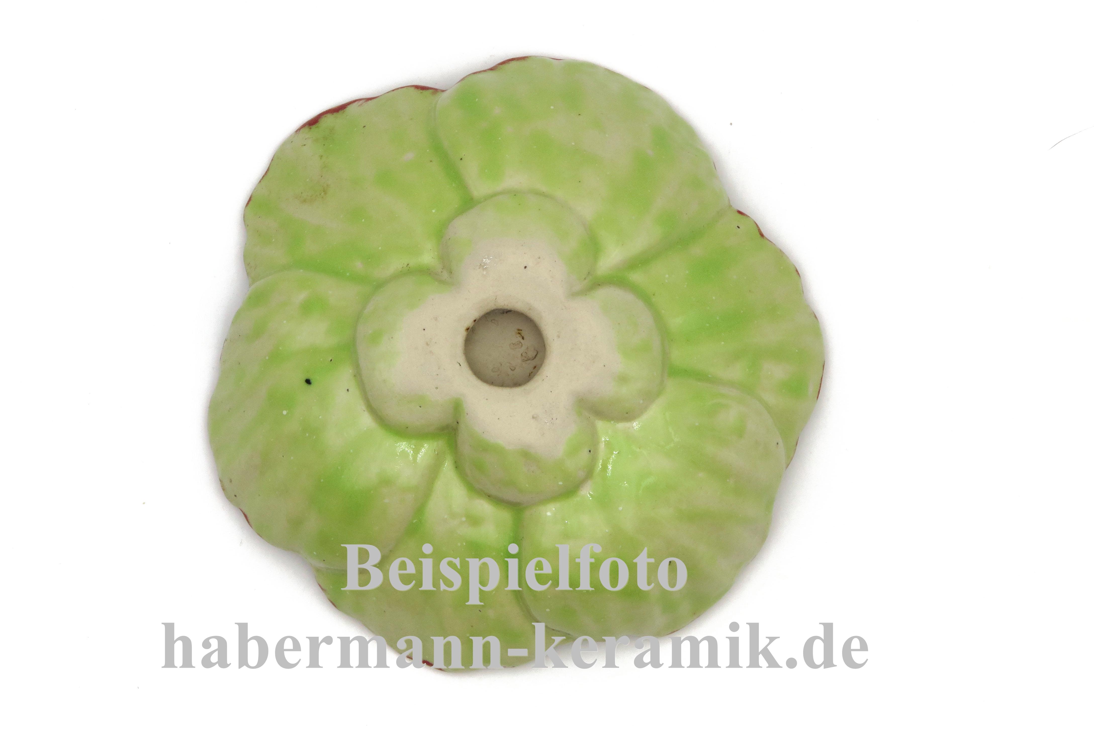 Frühlingsbote Mohnblume Insektentränke Vogeltränke Keramik