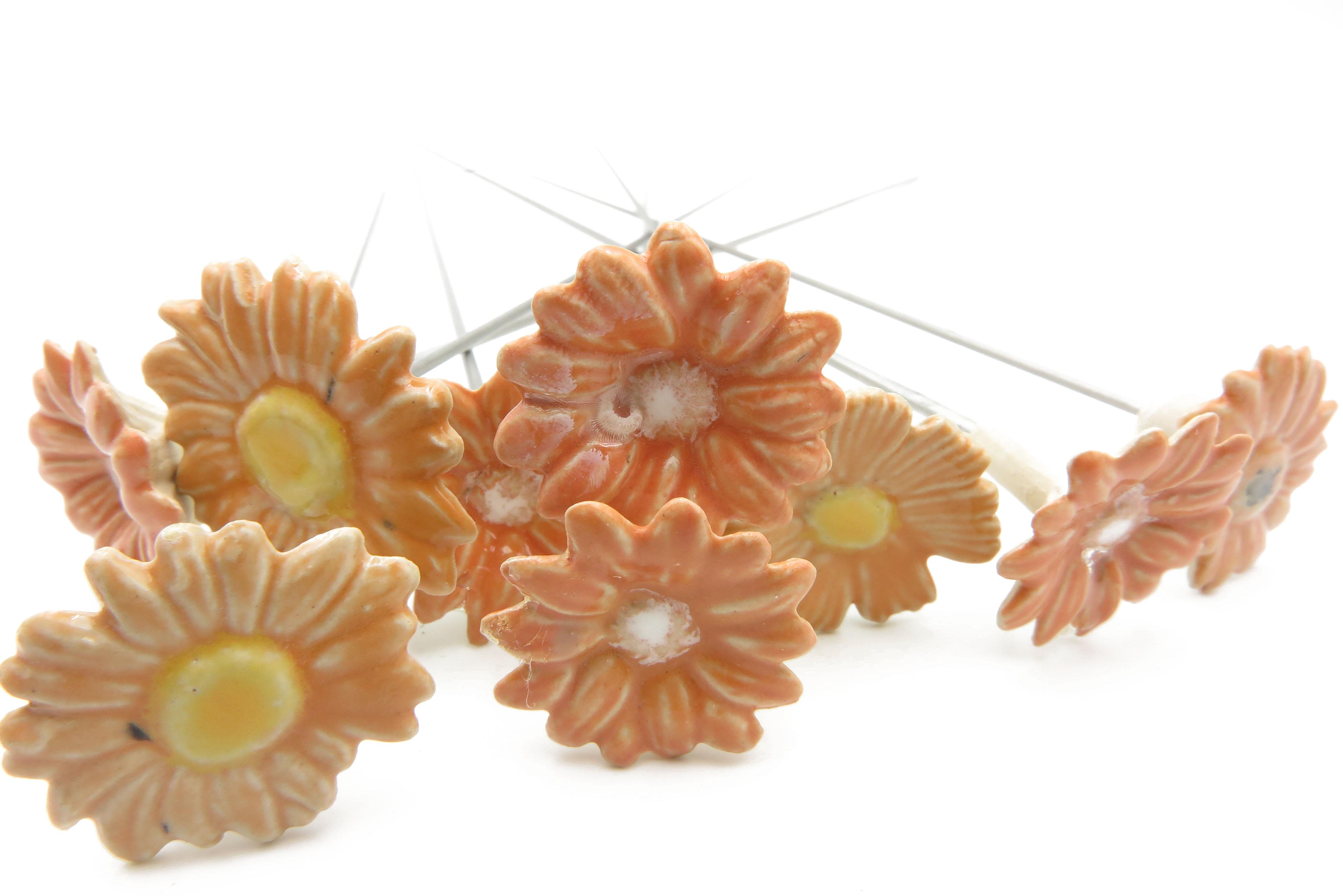 Steckblümchen Orange gemischt/ 3cm