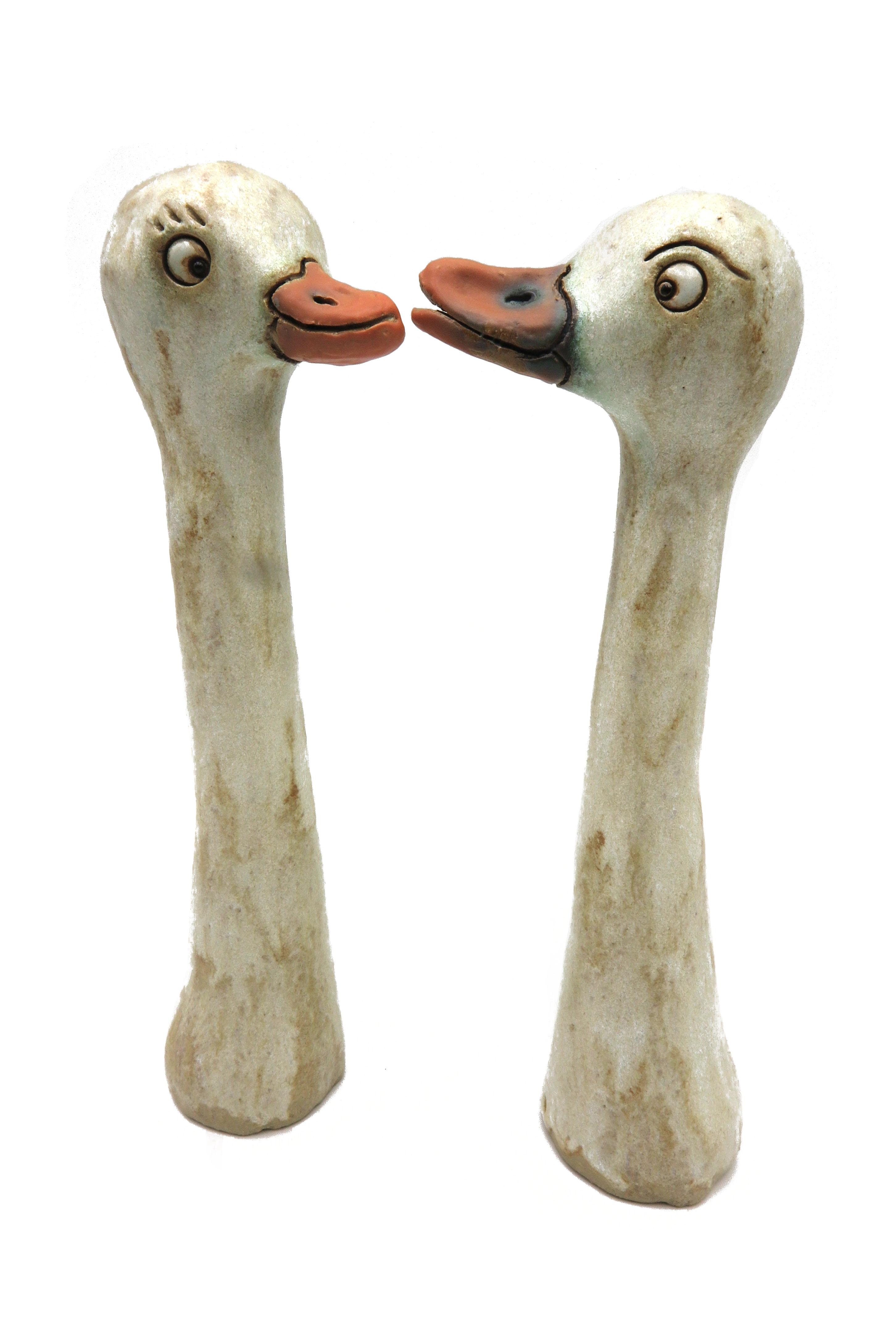 Gänsepärchen Erna und Bert/ M 20cm