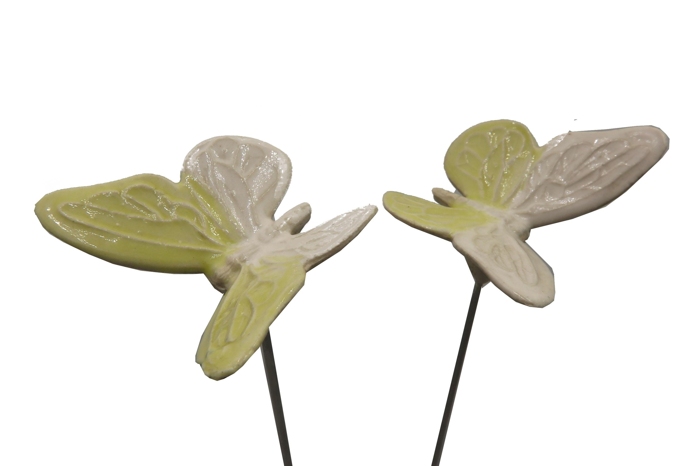 Steck- Schmetterling Zitronenfalter/ 5 cm