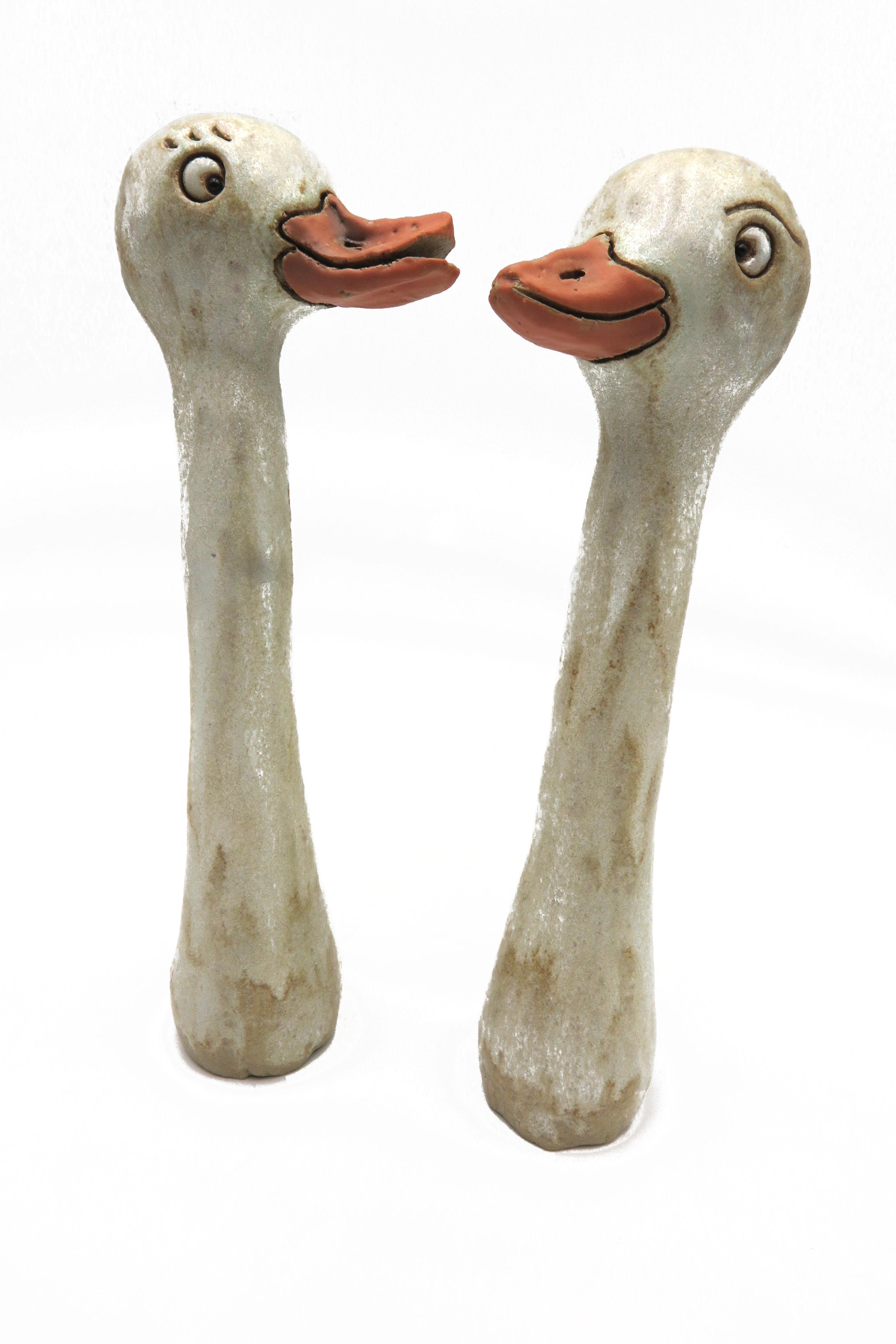 Gänsepärchen Erna und Bert/ M 19cm
